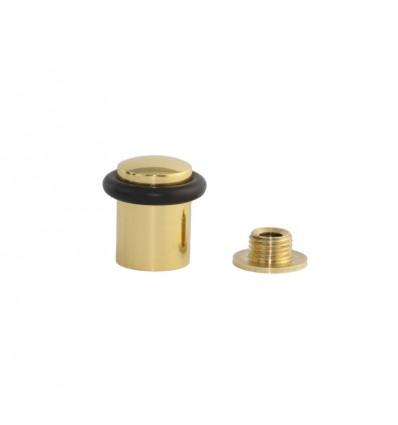 Butées de porte en laiton - fixation par vis (I-108) - brille Elastique Noir