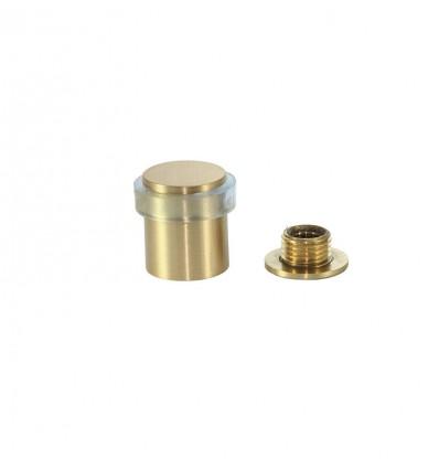 Butée de porte adhésif en laiton (I-180 TCB) - Mat, Élastique Transparent