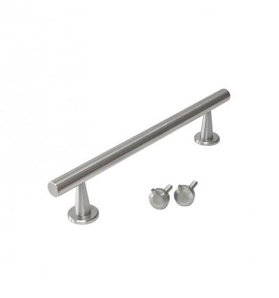 Poignées barres en acier inoxydable (Ref 5025) - Inoxidable mat