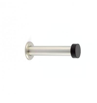 Butées de murs en acier inoxydable -Fixation par vis (I-128) -Mat Élastique Noir