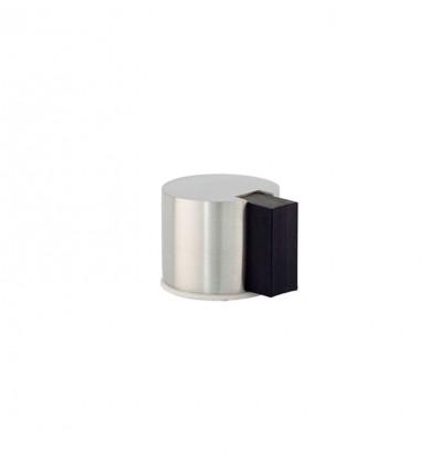 Butée de porte adhésif en acier inoxydable (I-193/24) - Elastique Noir