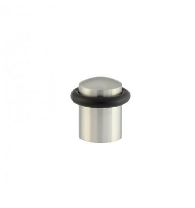 Butées de porte en acier inoxydable - fixation par vis (I-108) - Mat