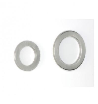 Poignées de porte à glissière en acier inoxydable (Ref 3112)